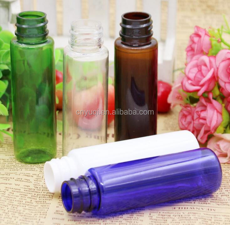 30ML clear blue, white, green, brown spray bottle, fine mist spray bottle, make-up water / toner, split bottle