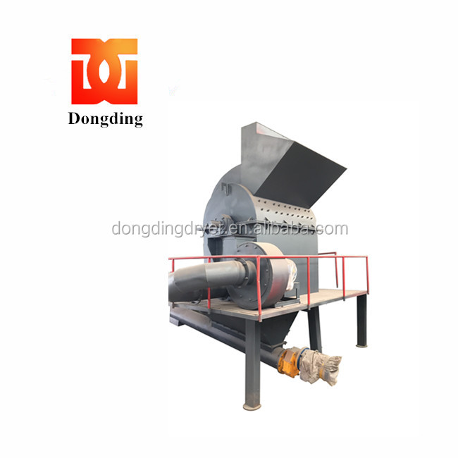 multifunctional cedarwood wood spruce hammer mill crusher in stock with capacity