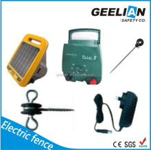 0.4Joules Solar Electric Fence Energizer, 12KV Pulse Electric Fence For Horse Farm, Geelian Electric Fence Generator