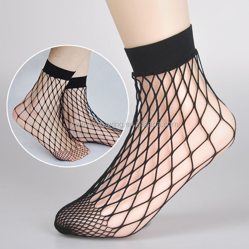 403a870dae216 Oversized Fishnet Ankle Socks Sexy Fish Net Stocking - Buy Fish Net ...