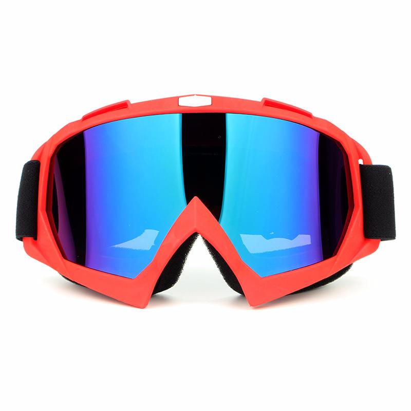 HBK Motorcycle Goggles Protective Face Mask Motocross Helmets Goggles Eyewear Ski Sport Glasses G0017