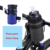 Waterproof Bicycle Panniers Bag Top Tube Handlebar Water Bottle Bag