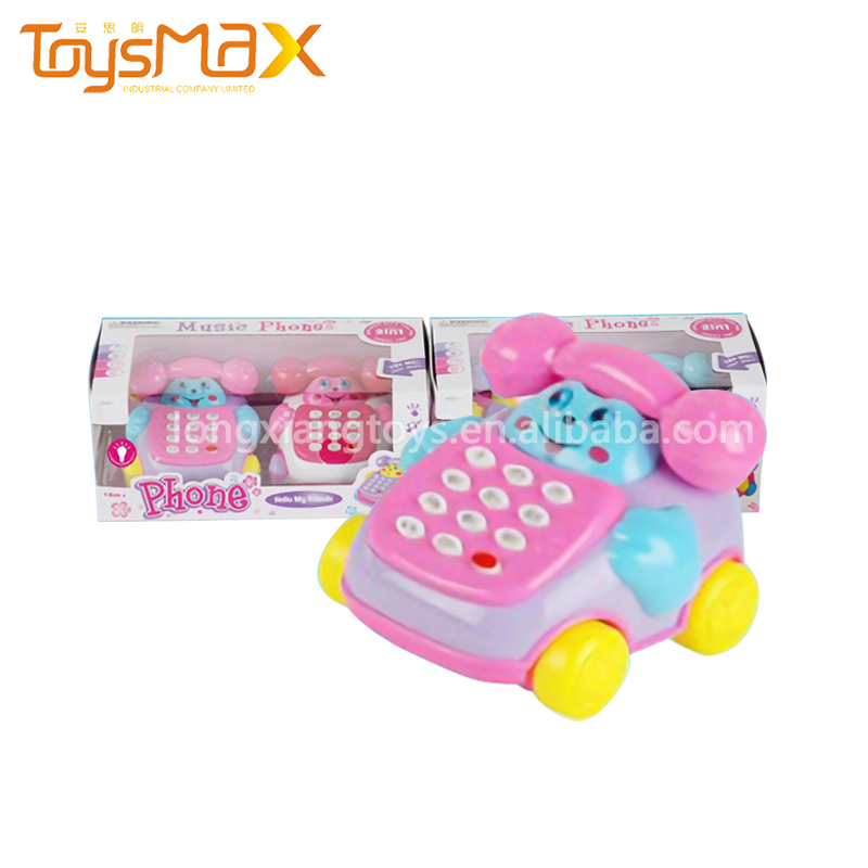 Kids Cartoon Musical Fancy Toy Telephones