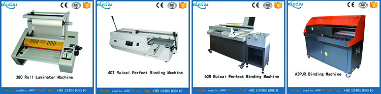 40T Professional Glue Binding Machine