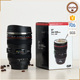 Online Shopping Innovative Christmas Gift Camera Lens Shape Milk Coffee Mug