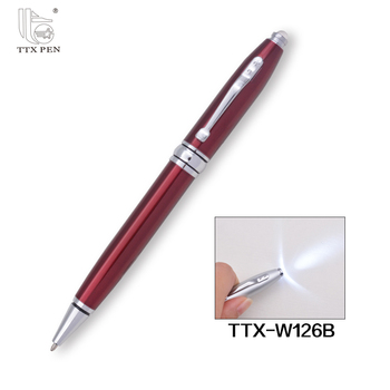 Wholesale Cheap Custom short ballpoint pen refills,LED metal ball pen