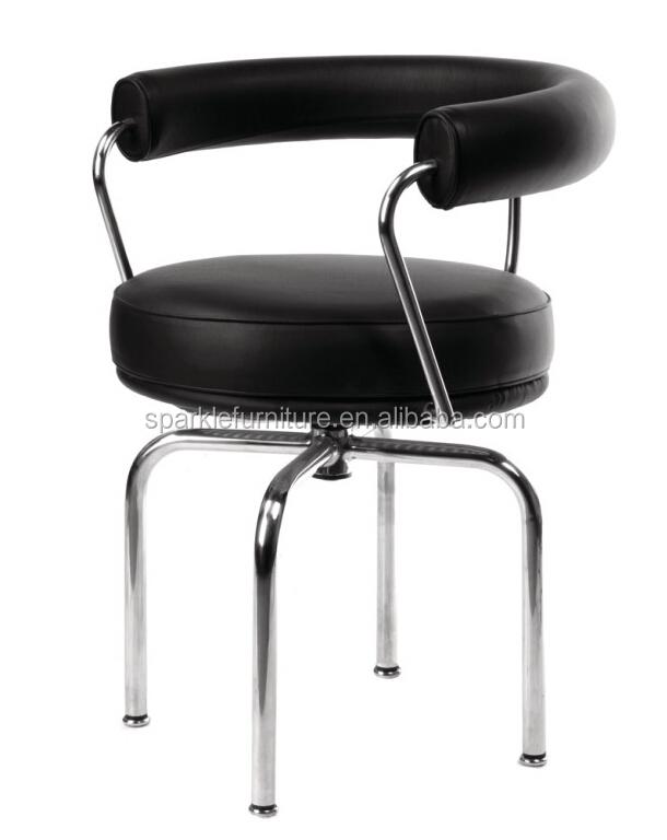 Le corbusier poltrona lc7 telaio in acciaio inox sedia girevole sedie in soggiorno id prodotto - Sedia le corbusier ...