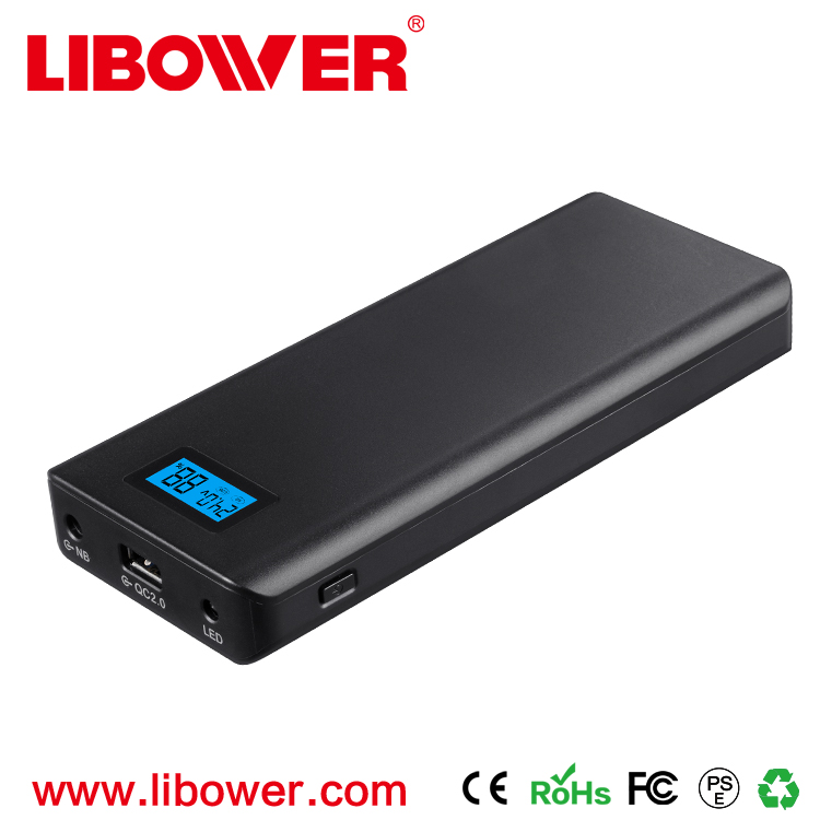 Libower top sale multifunction power bank 15600 mah laptop power bank for dell