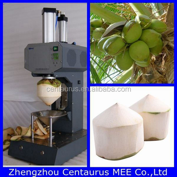 Hot Selling Electric Coconut Cutting Machine/ Coconut Dehusking ...