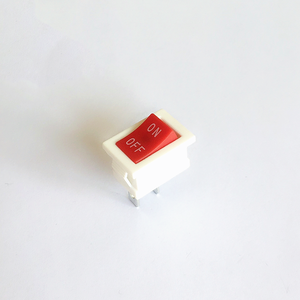 KCD1 101 mini marine switch with 21 x 15mm white button 10A
