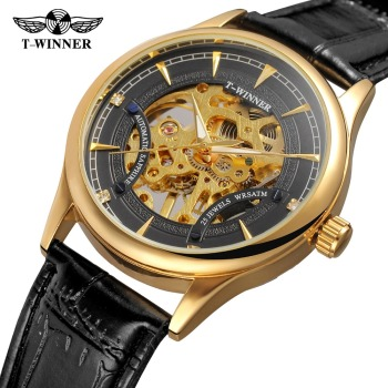 New Arrival!! 2018 Mens Luxury Watch Mechanical T-winner wholesale Online shop China Watch
