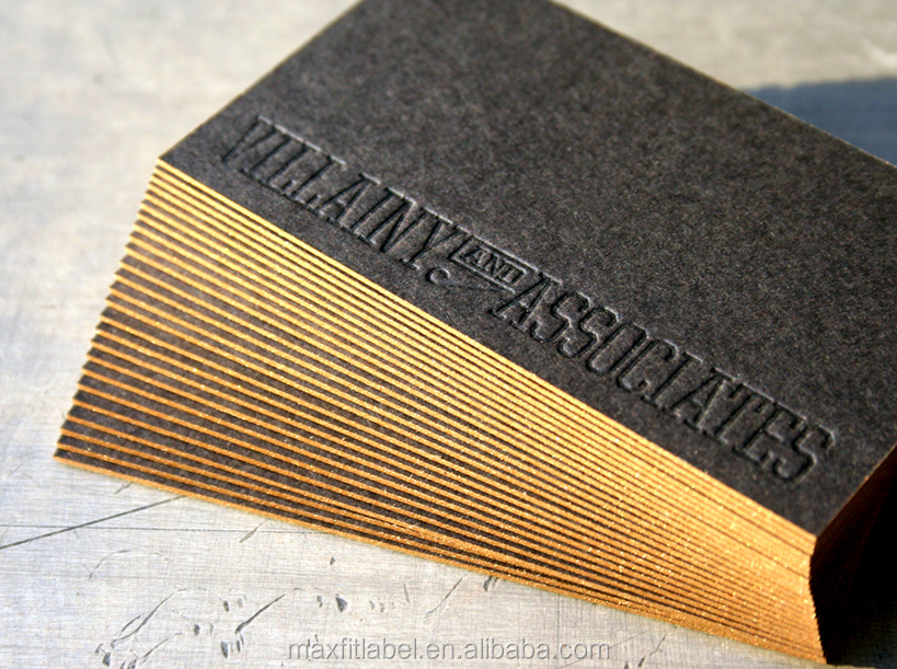 Print Color Border Debossed Embossed The Letter Luxury Business ...