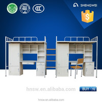 2015 new stainless steel double bunk bed with low price