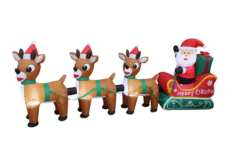 Cheap Santa Sleigh Inflatable, find Santa Sleigh Inflatable deals on ...