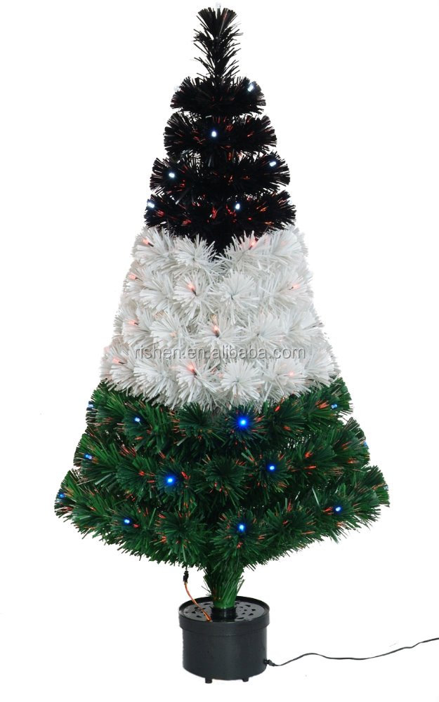 Outdoor Fibre Optic Christmas Trees