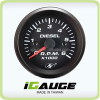 Reliable Auto Meter 52mm 90 Degree Scale Mechanical Ammeter Gauge ...