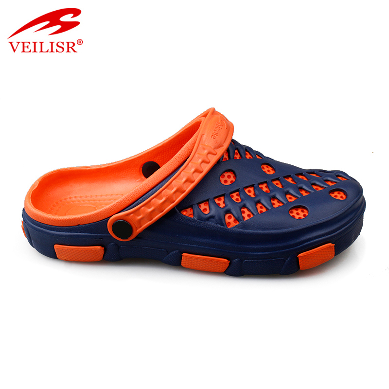 New double layer design beach EVA sandals garden shoes men clogs