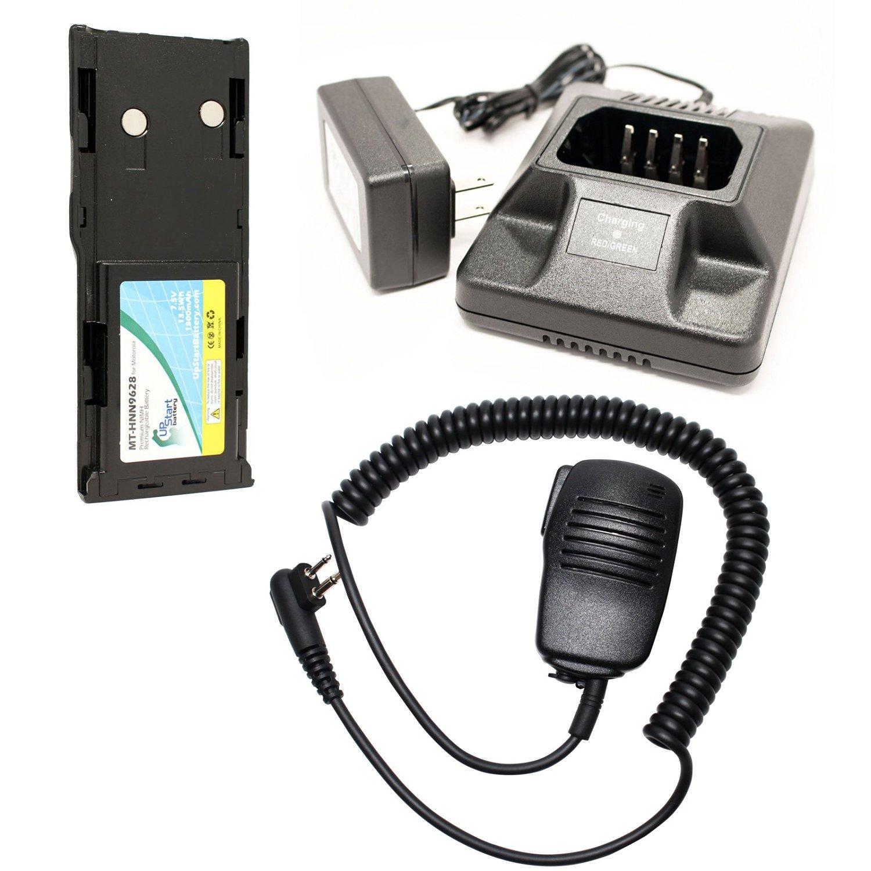 Battery Eliminator fit MOTOROLA HNN9628 GP300 GP388 GP600 GP88 LTS2000 GTX UHF