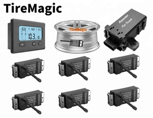 Tiremagic TD20-6 200psi 6 wheel sensor truck TPMS for trucks bus wireless tire pressure monitoring system