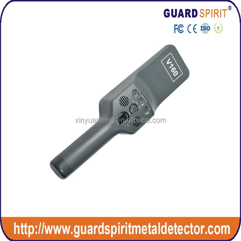 high sensitivity small non-magnetic metal pinpointer for security guarding