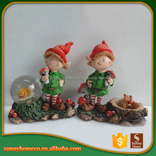 Exquisite Custom Cheap Crafts Cute Resin Figurines Decorative Baby Christmas Gift