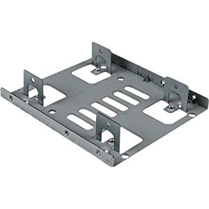 """Startech.Com Dual 2.5"""" To 3.5"""" Hdd Bracket For Sata Hard Drives - 2 Drive 2.5"""" To 3.5"""" Bracket For Mounting Bay - 2 X Total Bay - 2 X 2.5"""" Bay """"Product Category: Accessories/Drive Cabinets"""""""