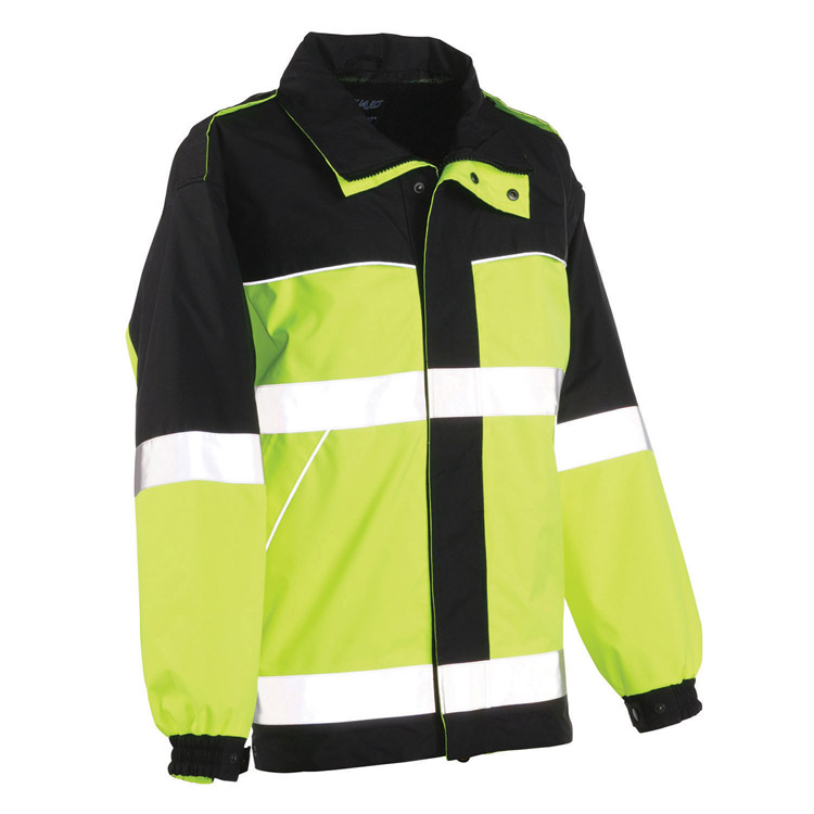 High Visibility Safety Suit Security Parka