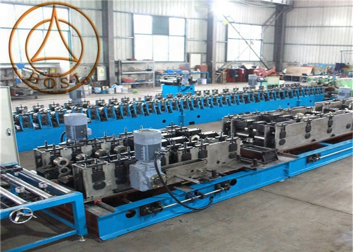 Good Price light weight cable tray roll forming machine customized for Spain
