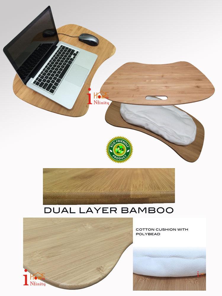 Home Furniture Computer Desk Wooden Laptop Lap Bean Bag