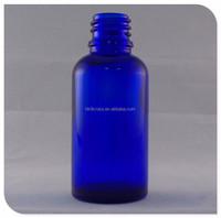 Cobalt blue essential oil glass dropper bottle vape oil bottle with dropper and pipette wholesale