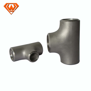 Carbon Steel A105 Butt Welded Fittings Reducing Tee ANSI B16.9