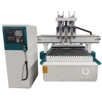 four processing multi head wood cnc router 1325 Price for Wood Carving