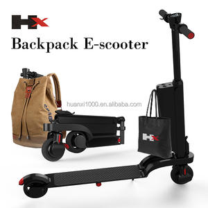 e8dbd3dbe7f6 2018 hot 5.5inch black backpack E- Scooter for adult