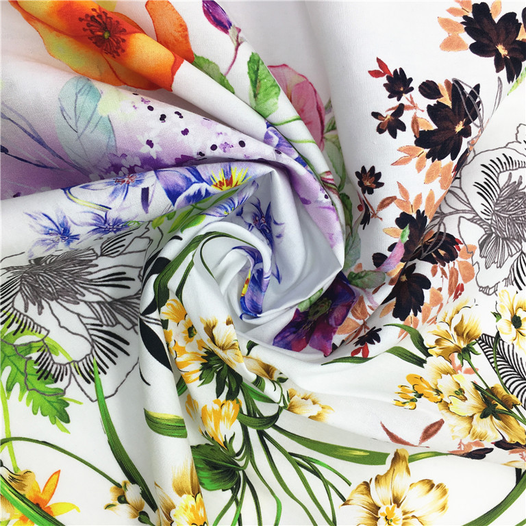 Bedsheet Making Use Fabric 100% Cotton Digital Printed Pattern