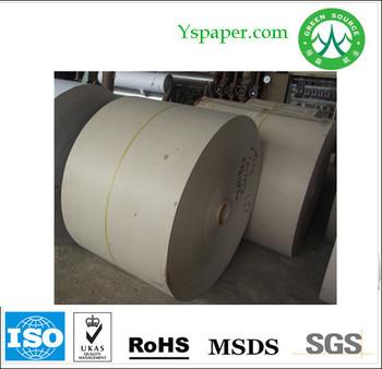 Grey Cardboard Paper Roll Stock
