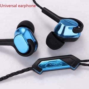 Music earphone sport earphones deep bass in ear earphone with microphone mic fone de ouvido with original package audifonos