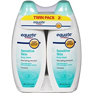 Buy Equate Sensitive Skin Unscented Body Wash 24 Fl Oz Pack Of 2 In Cheap Price On Alibaba Com