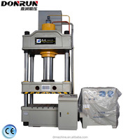 Hydraulic metal stamping press machine