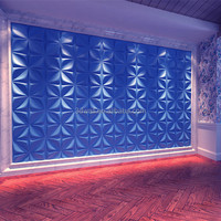Low price fire proof easy diy decorative leather 3D wall covering panels