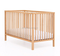 120x60cm mattress Europe Nursery Wooden baby Cot Bed