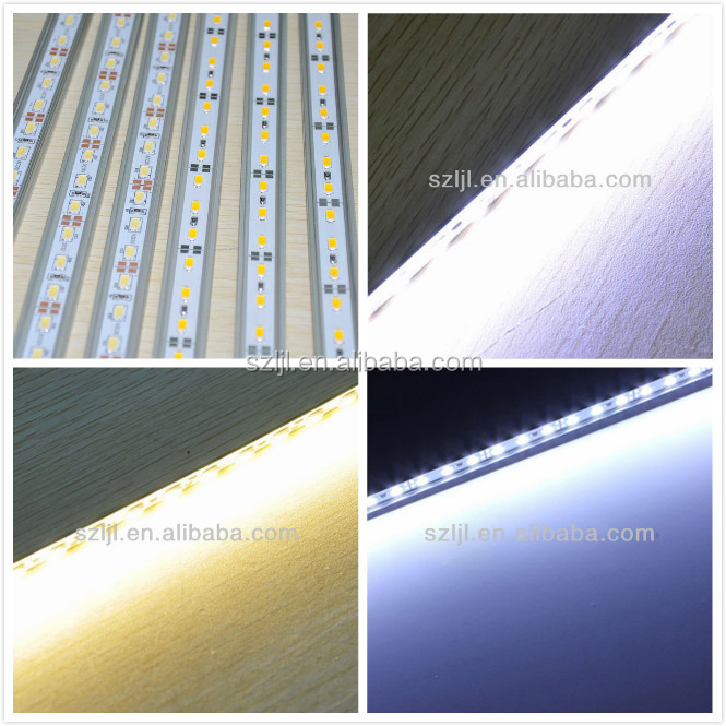 72 leds/m 6500K,3000K,8000K,10000K aluminium pcb board 5630 led light bar