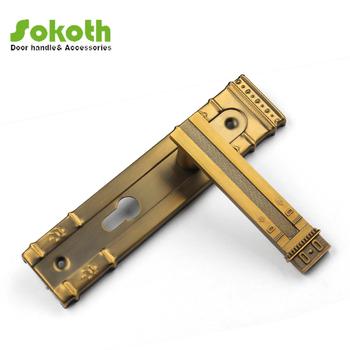 Long Plate Door Handle,Middle Size Type Of Door Handles,Lever Door ...