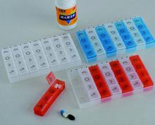 Household Plastic 7 Days medicine container