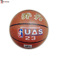 YIWU wholesale cheap price good quality 8 panels sports training artificial leather size 7 basketball