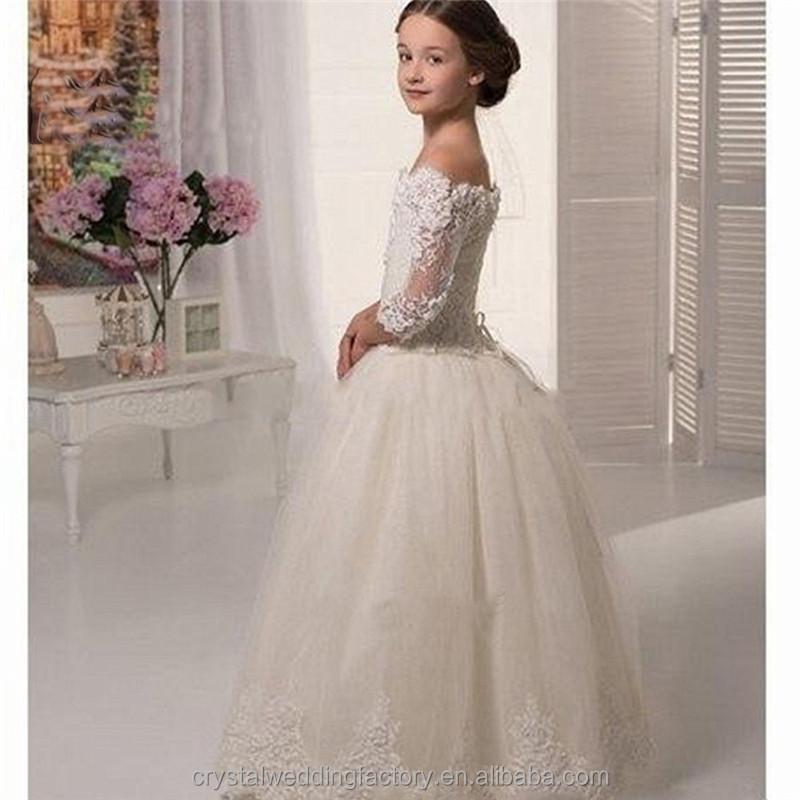 Lovely Lace Flower Girl Dress For Wedding, Lovely Lace Flower Girl ...