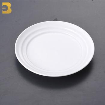 mexican tableware 7\u0026quot; modern restaurant cheap white dinner ceramic taco plates & Mexican Tableware 7\