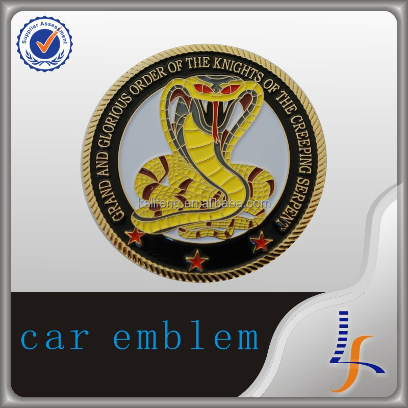 high quantity new production custom metal car emblem auto <strong>logo</strong>