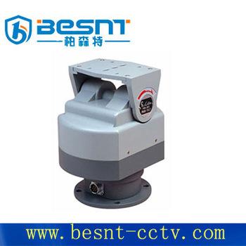 Best hot selling besnt outdoor motorized pan tilt head 24v for Pan and tilt head motorized
