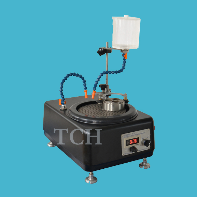 manual grinder, or automatic lapping / polishing machine for both flat sample and metallographic samples