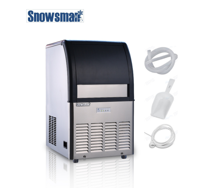 Food-grade PE Inner 120kg/24h Air/Water Cooling portable cube ice machine